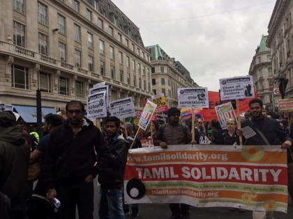 "March against Racism demo: ""We are Refugees – Fighting for our Rights"""
