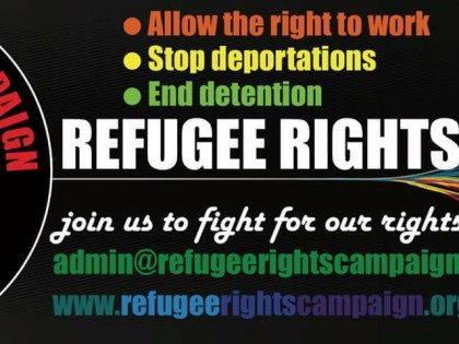 Come to the March Against Racism Demo and Support Refugee Rights Campaign