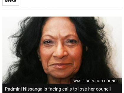 Padmini Nissanga UKIP councillor wants all remainers to face the death penalty