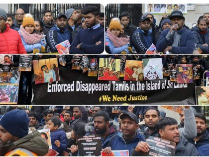 Enforced Disappeared 1000 Days Protest